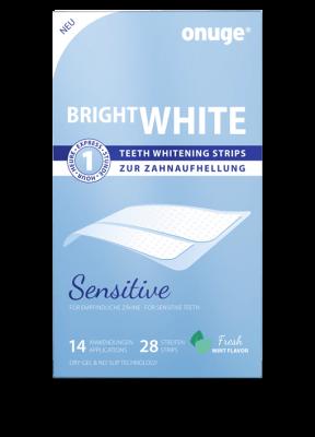 onuge Bright White Strips Sensitive für empfindliche Zähne