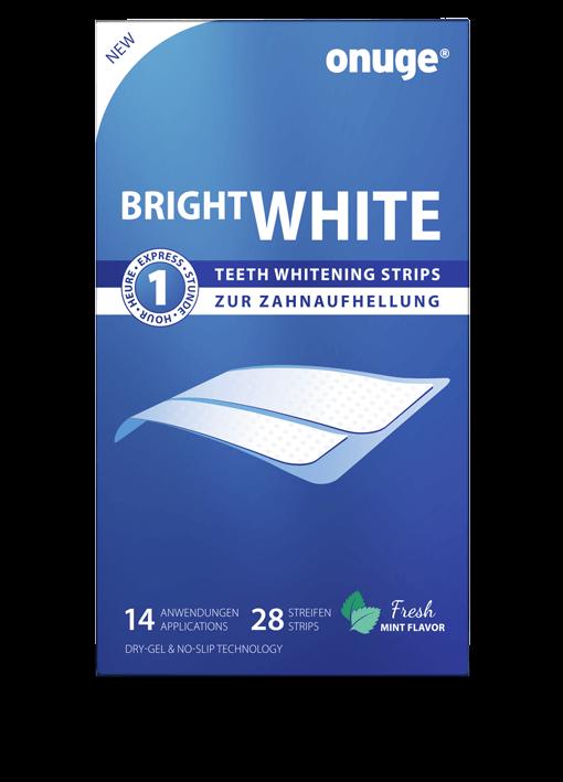 onuge Bright White Strips für normale Zähne
