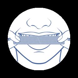 onuge whitestrips für weisse zähne